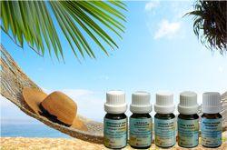 Bien-être Détente: Set aromatique de vacances