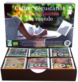 Cadeaux Livres: Coffret Dégustation Thés & Tisanes du Monde
