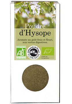 Aliments et Boissons: Poudre d\'Hysope