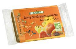 Aliments et Boissons: Barre de céréales germées : Abricot/Figue