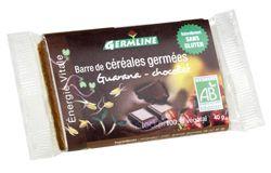 Aliments et Boissons: Barre de céréales germées : Guarana/Chocolat