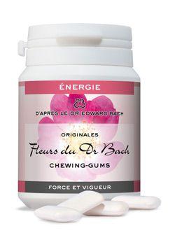 """Thérapies naturelles: Chewing-gums \""""Force et vigueur\"""" (Energie), Dr Bach"""
