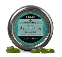 """Bien-être Détente: Pastilles \""""Gum Arabic\"""" propolis-eucalyptus"""