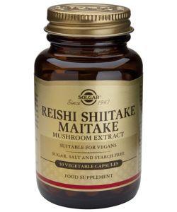 Thérapies naturelles: Extrait de champignons Reishi Shiitake Maitake