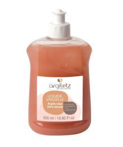 Animaux & Maison: Liquide vaisselle à l\'argile rose