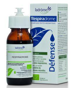 Thérapies naturelles: Respiradrome - Complexe phyto-aromatique