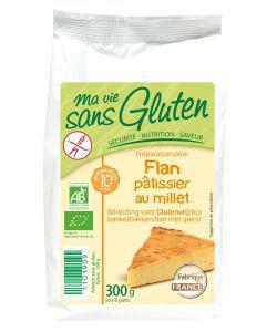 Aliments et Boissons: Préparation pour Flan pâtissier Millet & Vanille