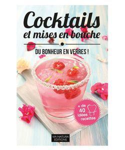 Cadeaux Livres: Cocktails et mises en bouche