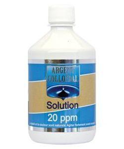 Les incontournables: Solution Argent colloïdal 20 ppm