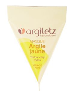 Beauté Hygiène: Masque argile jaune - monodose
