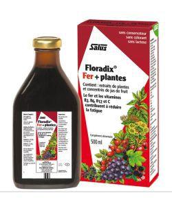 Bien-être Détente: Floradix fer + plantes