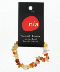 Cadeaux Livres: Bracelet baroque - Carnéole