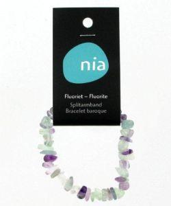 Thérapies naturelles: Bracelet baroque - Fluorite