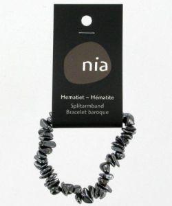 Cadeaux Livres: Bracelet baroque - Hematite