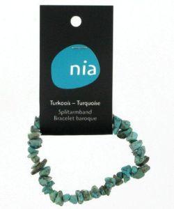 Cadeaux Livres: Bracelet baroque - Turquoise