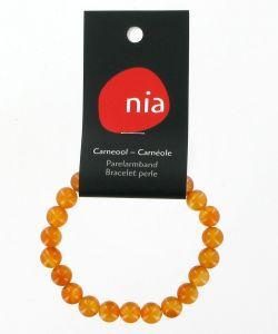 Cadeaux Livres: Bracelet perle - Carnéole