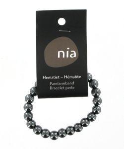 Cadeaux Livres: Bracelet perle - Hématite
