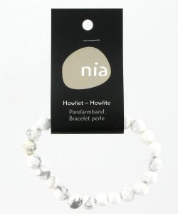 Cadeaux Livres: Bracelet perle - Howlite