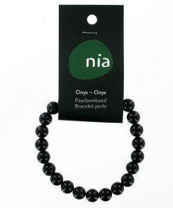 Cadeaux Livres: Bracelet perle - Onyx