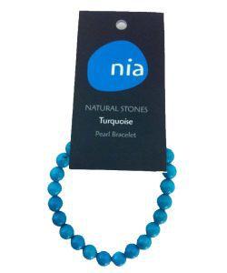 Cadeaux Livres: Bracelet perle - Turquoise