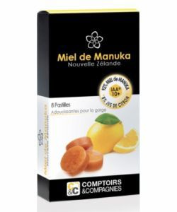 Bien-être Détente: Pastilles Citron/Miel de Manuka IAA® 10+