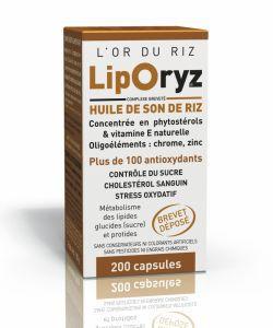 Thérapies naturelles: LipOryz - Huile de son de riz