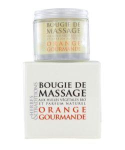 Cadeaux Livres: Bougie de massage - Orange gourmande