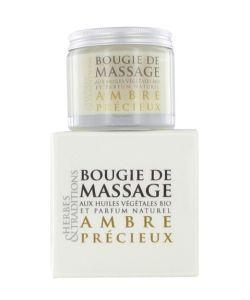 Cadeaux Livres: Bougie de massage - Ambre précieux