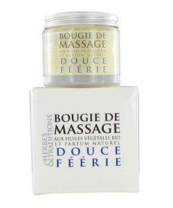 Cadeaux Livres: Bougie de massage - Douce féerie