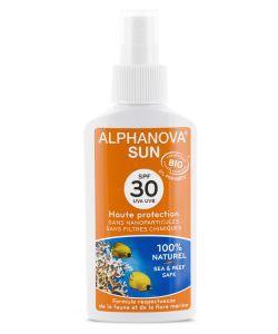 Bien-être Détente: Spray solaire SPF 30