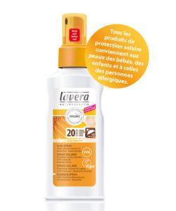 Bien-être Détente: Spray solaire SPF 20