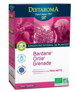 Beauté Hygiène: C.I.P. Peau nette - Concentré Intégral de Plantes (Bardane, Ortie, Grenade)