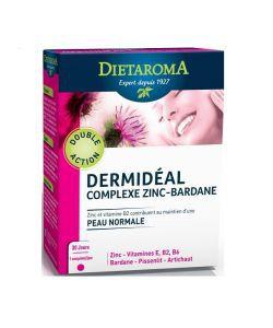 Thérapies naturelles: Dermidéal - Complexe Zinc-Bardane
