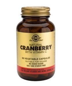 Thérapies naturelles: Cranberry avec Vitamine C