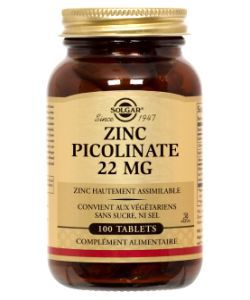 50 +: Zinc Picolinate 22 mg