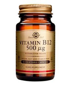 50 +: Vitamine B12 500 µg
