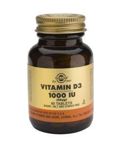 Bien-être Détente: Vitamine D3 25 µg (1000 UI)
