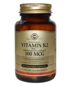 50 +: Vitamine K2 100 µg