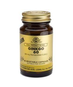 Thérapies naturelles: Ginkgo 60 mg