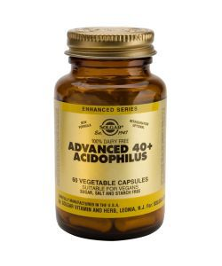 Thérapies naturelles: Advanced 40+ Acidophilus