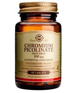 Thérapies naturelles: Chromium Picolinate 100 µg