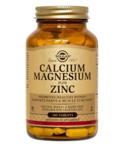 50 +: Calcium Magnésium plus Zinc