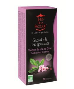 Aliments et Boissons: Thé Vert Sencha Vanille & Fleurs de Cerisier