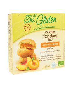 Aliments et Boissons: Coeur Fondant Abricot & Pêche