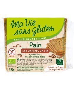 Aliments et Boissons: Pain aux graines de lin - DLUO 28/02