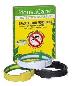 Bien-être Détente: Bracelet anti-moustiques - Noir