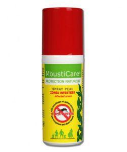 Bien-être Détente: Spray peau anti-moustiques zones infestées