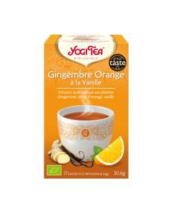 Aliments et Boissons: Gingembre Orange à la Vanille - Infusion ayurvédique