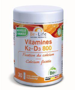 Les incontournables: Vitamines K2-D3 800