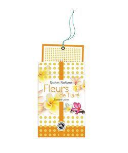 Bien-être Détente: Sachet parfumé - Fleurs de Tiaré